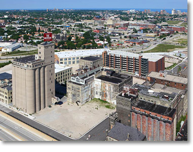 Aerial Photography Milwaukee Brewery